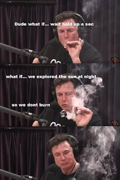 18 Hilarious Memes and Reactions To Elon Musk Smoking Weed On Joe Rogan's Podcast Weed Memes, Memes Humor, Funny Humor, Very Funny Memes, Hilarious Stuff, Funny Shit, Joe Rogan, Dark Memes, Elon Musk
