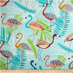 Richloom Indoor/Outdoor Flamingo Capri