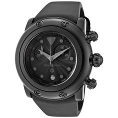 Glamrock Unisex Miami Watch In Black