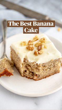 Banana Recipes, Apple Recipes, Cookie Recipes, Dessert Recipes, Fruit Dessert, Healthy Recipes, Yummy Treats, Yummy Food, Sweet Treats
