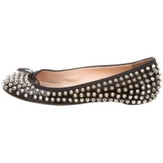 Pre-owned - Spike patent leather flats Christian Louboutin 0tvnzl