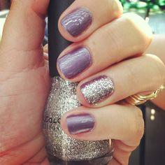 Glitter nail - JM