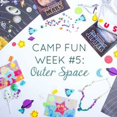 OUTER SPACE! 💫WEEK 5 of Camp Fun with @designimprovised Only two more weeks of fun fill activities to keep your summer kids active! Click the link to see what's on the calendar for this week.  #otcampfun #summercamp #summerfun #summerideas #orientaltrading