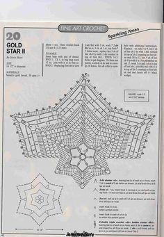 Crochet Stars, Crochet Blocks, Crochet Round, Crochet Home, Thread Crochet, Crochet Stitches, Crochet Diagram, Filet Crochet, Crochet Motif