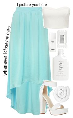 """tmh series pt. 10"" by c-astaway ❤ liked on Polyvore featuring M&Co, Brinkhaus, Forever New, Stila, Chanel and kikitags"