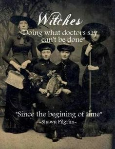 Witches.....