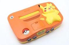 Nintendo 64 - Pikachu edition - orange.