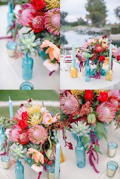 Sonoran Romance Table Top at Ocotillo Golf Resort | Arizona Weddings Magazine