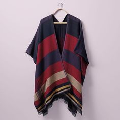 Ponchos, the acceptable way to wear a blanket. #loveloft