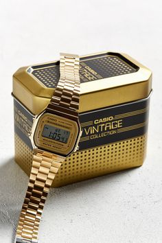 Slide View: 4: Casio Vintage Digital Watch