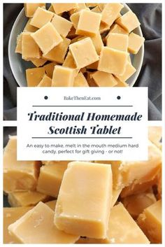 Scottish tablet Scottish tablet - it's not fudge and its certainly not toffee.- Scottish tablet Scottish tablet – it's not fudge and its certainly not toffee…. Scottish tablet Scottish tablet – it's not fudge and… - Scottish Tablet Recipes, Irish Recipes, Sweet Recipes, Köstliche Desserts, Delicious Desserts, Dessert Recipes, Yummy Food, Fudge Recipes, Candy Recipes