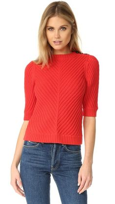 La Vie Rebecca Taylor Rib Sweater