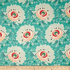 Amazon.com: Art Gallery Rapture Euphloria Coral Fabric By The Yard