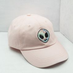 Alien Embroidered Baseball Hat Choose by WildflowerandCompany