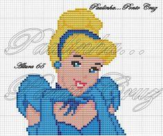 Cinderella x-stitch