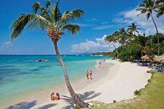 Beach at Luxury Bahia Principe Cayo Levantado