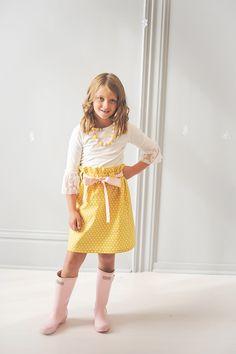 Taylor Joelle Designs  Polka Dot Skirt
