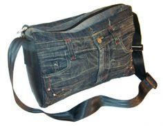 Image detail for -Recycled Denim Jean Shoulder Bag - Fair Trade Bags - The Fair Trade ...