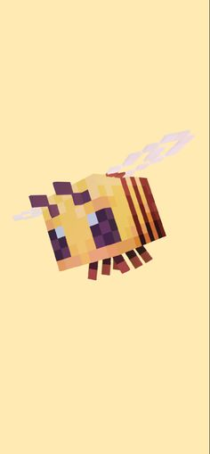 minecraft bee iphone wallpaper