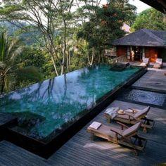 tropical paradise at the COMO Shambhala Estate in the jungles of Bali