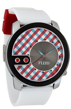Flud Watches The Exchange Watch With Interchangeable Bands in Red Blue : Karmaloop.com - Global Concrete Culture