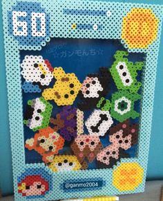 ツムツムゲーム3(B5サイズ) | アイロンビーズ作品集 ☆ガンモんち☆別館