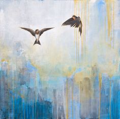 SUPERSONIC ART: Jessica Pisano, Paintings. Peaceful, reflective...