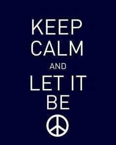 #and let it be