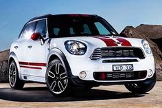 red stripes, now that is different. New Mini Countryman, Cooper Countryman, Mini Cooper Clubman, Mini Coopers, Mini Cooper Stripes, Mini Cooper Custom, Mini Crossover, Mini Lifestyle, Bristol