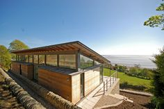 Simon Winstanley Architects Deepstone Residence Of The Earth   Nestled In  To The Site Of A Former Quarry, Simon Winstanley Architects .