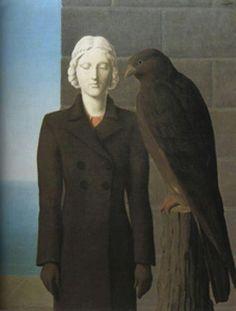 René Magritte - Les eaux profondes, 1941 #painting More Pins Like This At : FOSTERGINGER @ Pinterest.