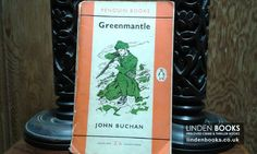 Vintage Penguin edition of Greenmantle by John Buchan. For sale in our online shop.