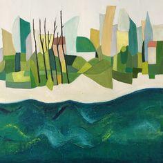 Island village Irish Landscape, Landscape Paintings, Island, Art, Art Background, Kunst, Gcse Art, Islands, Art Education Resources