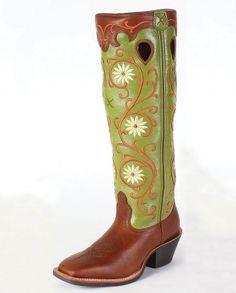 """Twisted X Boots® Ladies' Buckaroo """"WS"""" Toe Boots"""