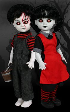 living dead dolls jack and jill