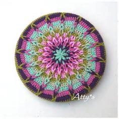 Crochet Coaster Tutorial - Bing images