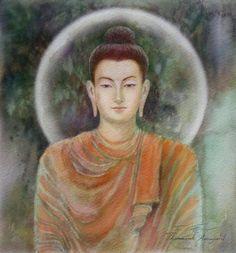 Buddha Painting, Buddha Art, Wall Stickers Vines, Chakra, Believe In God, Meditation Music, Zen, Religion, Buddhism