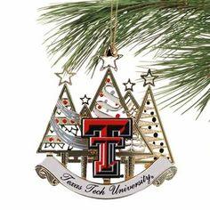 tech christmas ornament - Texas Tech Christmas Decorations