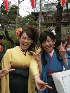 I was very popular with young girls in kimonos.