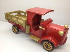 Бесплатная доставка! ручной работы деревянная классический грузовики модуль старинные ремесла подарок украшение сувенир