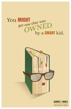 poster design for Barnes & Noble