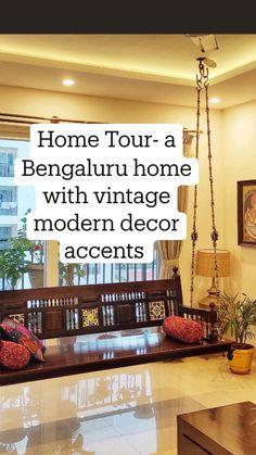 Luxury Interior Design, Interior Design Living Room, Living Room Designs, Living Rooms, Cool Kitchen Gadgets, Cool Kitchens, Modern Vintage Decor, Indian Home Decor, Home Renovation