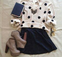 The perfect outfit for evenings  whit friends! ;)