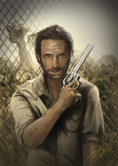 Rick Grimes - The Walking Dead - Sergio Felipe Manuel Pérez Roa
