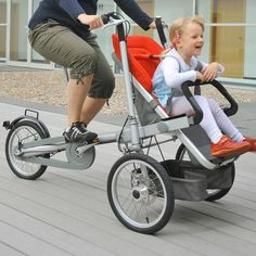 taga bike.. pretty cool idea for little kids to bike with you, and/or special needs kids who want to have fun too.