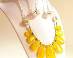 Multicolor Agate Necklace Long Earrings Pendant от GECHELINE