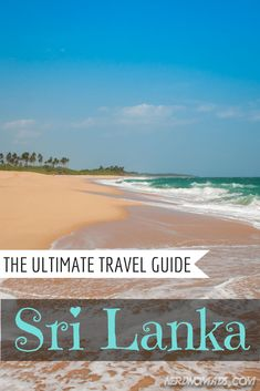 Sri Lanka has EVERYTHING; beautiful beaches, high mountains, tropical forests and lots of wild animals. This is the ultimate travel guide to Sri Lanka! Oh The Places You'll Go, Places To Travel, Travel Destinations, Places To Visit, Santorini, Maldives, Le Sri Lanka, Hotels, Ultimate Travel