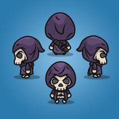 4 Directional Skeleton Knight