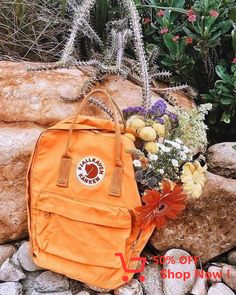 Shop Fjallraven Kanken Warm Yellow Mini Backpack at Urban Outfitters today. We carry all the latest styles, colours and brands for you to choose from right here. Mochila Kanken, Mini Backpack, Kanken Backpack, Raven Kanken, Thing 1, Yellow, Orange, Purses And Bags, Projects To Try