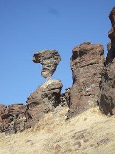 Balancing Rock - outside Twin Falls, Idaho
